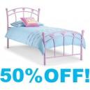 3ft Princess Metal Bed Frame