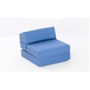 Kids Bed DENIM Single Chair Cotton Drill Golf