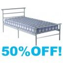 3ft Quebec  Metal Bed Frame