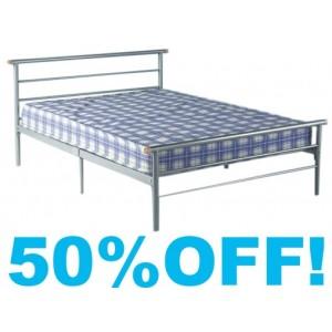 4ft Quebec  Metal Bed Frame