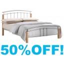 4ft  Sierra Metal Bed Frame