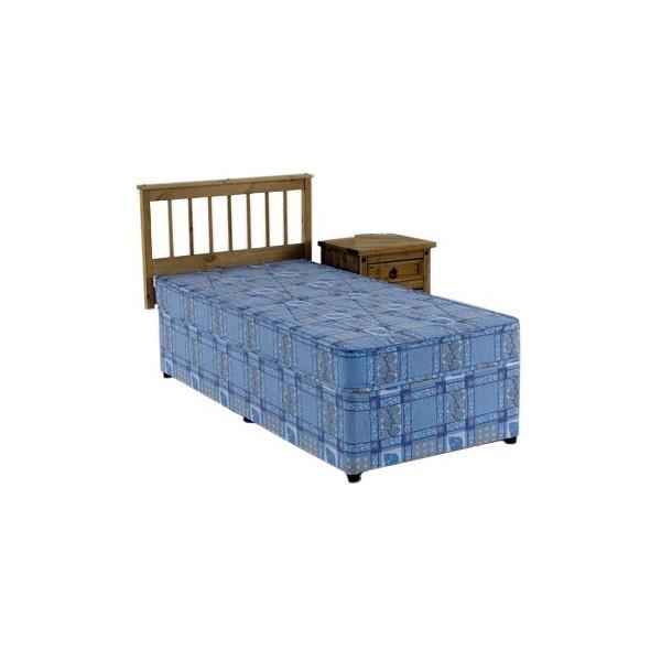 2ft6 single divan bed set no storage for Divan bed no mattress