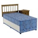 2ft6 Single Divan Bed Set  SLIDE STORAGE Bravo Deep Quilted Mattress