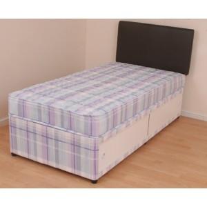 Single 3ft Mary Orthopaedic SLIDE STORAGE Divan Bed Set