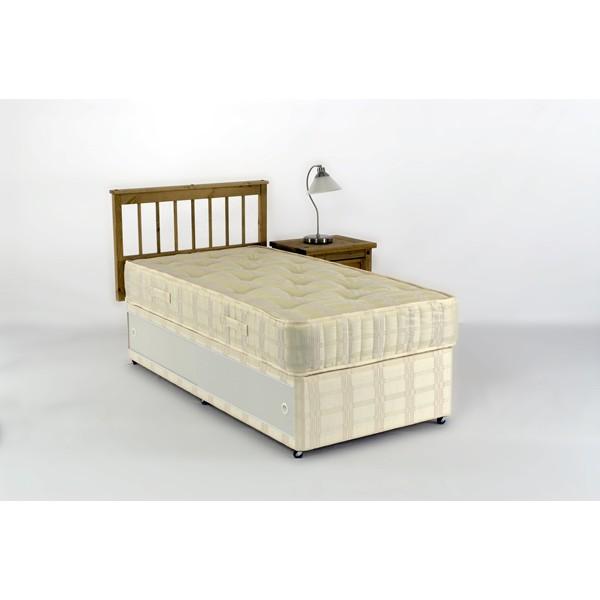 3ft Orthopeadic Pillow Top Slide Storage Divan Set