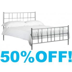 4ft 6 Juliette Metal Bed Frame