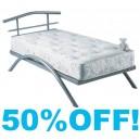 4ft6 Uni Metal Bed Frame