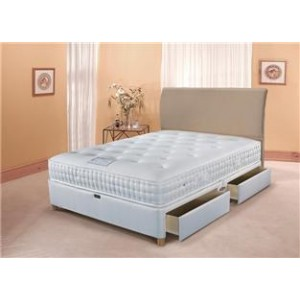 4ft6 Comfortable 1400 4DRAWER STORAGE Divan Set