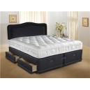 4ft6 SUPERIOR 3000 NO STORAGE Divan Set