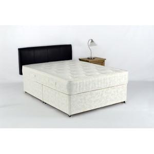 Obama King Size Divan Bed and Pocket Sprung Mattress - NO STORAGE