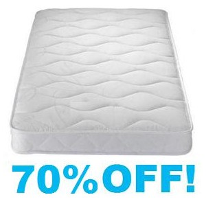 2FT 6 SMALL SINGLE BARGAIN MATTRESS - MEDIUM SOFT