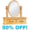 Valerie Pine Trinket Mirror