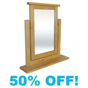 Celine Oak Trinket Mirror
