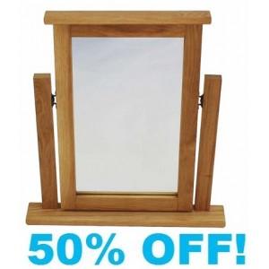Loup Oak Dressing Table Mirror