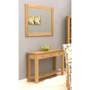 Marcelle Oak Wall Mirror Medium