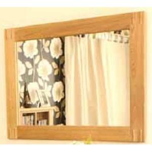 Adele Oak Wall Mirror