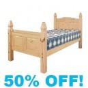 Corine Pine 3ft Single Bed
