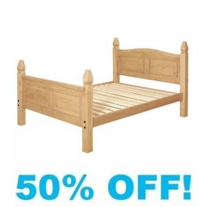 Corine Pine 4ft 6 Double Bed