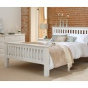 Perrine 4ft 6 Double Slatted Bed